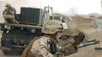 US Marines defend woman-led recruitment advert