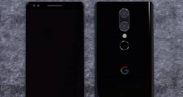 google pixel 2 concept shows smooth design and rear dual-camera setup