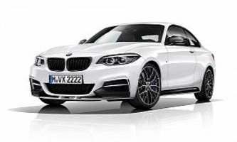BMW 2 Series Coupe Gets M Performance Accessories, a Special Edition Is Created