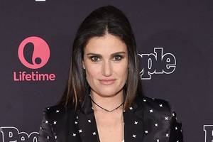 idina menzel to return to off broadway in next spring's 'skintight'