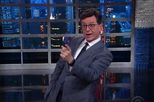 Stephen Colbert Begs President Trump: 'Please Don't Take Sean Spicer From Us'