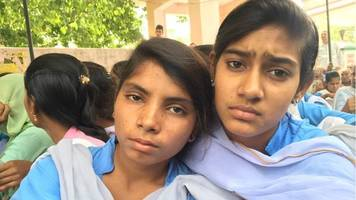 india schoolgirls on hunger strike to fight sexual harassment