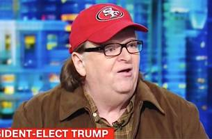 it 'all ends with this movie': michael moore announces new trump doc fahrenheit 11/9