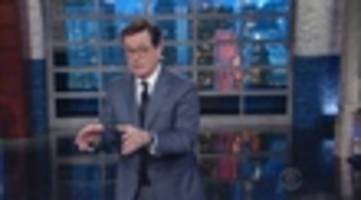 Video: Stephen Colbert Congratulates Trump On Finding The Leaker, Urges Him To Resign