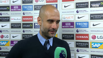 manchester city 3-1 west brom: guardiola 'so pleased' with 'fantastic' players