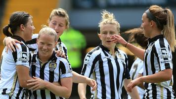 women's super league: wsl 2 clubs invited to apply to replace notts county ladies