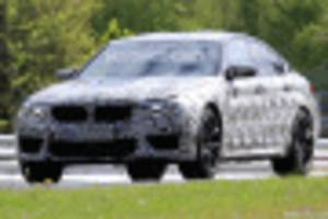 2018 BMW M5 spy shots and video