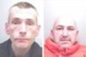 Can you help police trace final two wanted men?
