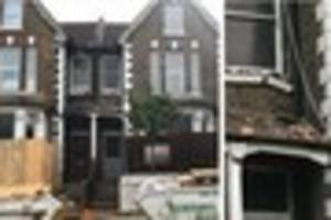 Thornton Heath families evacuated after house partially collapses...