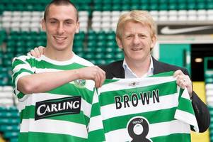 celtic skipper scott brown says he was a 'cocky little p****' until former manager gordon strachan sorted him out