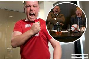 the hilarious but stirring moment welsh rugby fan wins trip to new zealand mimicking jim telfer's legendary lions speech