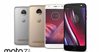 Moto Z2 Force and Moto Z2 Play Leaked Image Reveals Front and Back Panels