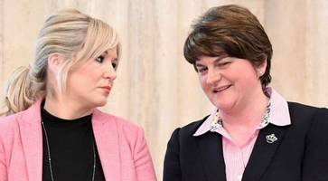 arlene foster: michelle o'neill blonde remark was meant as compliment