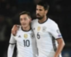 kroos, muller and ozil among stars left out of germany's confederations cup squad