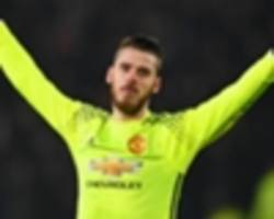 man utd team news: de gea left out as romero starts vs southampton
