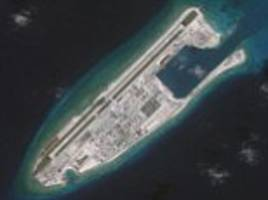 China installs new rocket launchers on disputed island