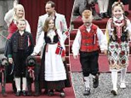 norway's royals celebrate national day