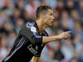 celta vigo 1-4 real madrid: cristiano ronaldo scores two