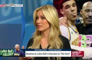 Kristine Leahy on LaVar Ball's May 17th appearance on 'The Herd' | SPEAK FOR YOURSELF