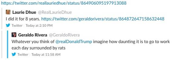 In One Tweet, Laurie Dhue Destroys Geraldo Rivera and Fox News — And Then She Deleted It