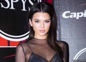 kendall jenner steps out for lunch with hunky man - trouble with a$ap rocky?