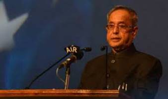 india committed to assist palestinian people in achieving developmental goals: president