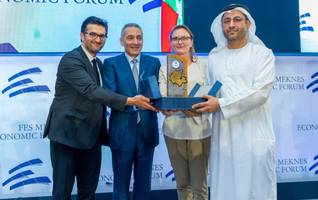 international fund for houbara conservation receives honorary award at fes meknes economic forum in morocco
