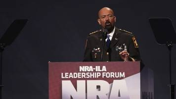 sheriff david clarke says he's joining the trump administration