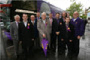 ukip battle bus arrives in nottingham with message that 'they are...