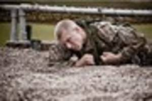 Are you tough enough for the Royal Marines Commando Challenge?