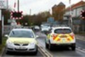 services affected after person struck by a train between derby...