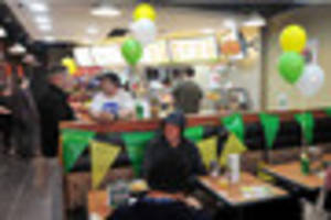 WATCH Take a look inside Burton's new Subway store as new BBQ...