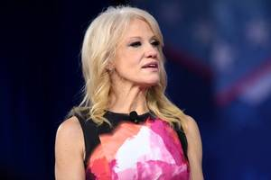 Kellyanne Conway responds to claim that she's in it 'for the money'