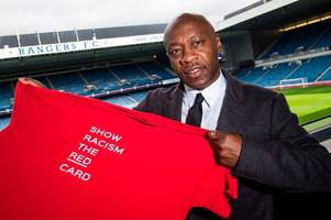 former rangers star mark walters dismayed that racist abuse still exists in the scottish game