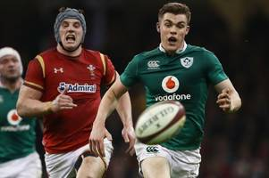 the battle between the welsh lion and the rugby prodigy most of ireland think warren gatland should have selected