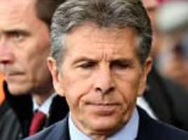 southampton set to axe puel after clashes with players