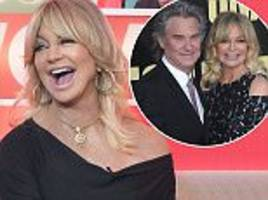 goldie hawn slept with kurt russell on the first date
