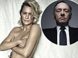 topless robin wright on house of cards gender pay gap