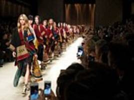 the £825 poncho that gave boost to burberry