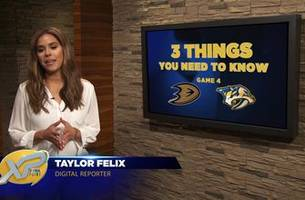 XTRA Point: 3 Things You Need to Know ahead of Ducks vs. Predators, Game 4