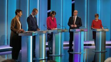 General Election 2017: Leaders clash in TV debate