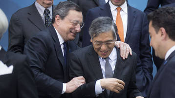 both ecb and boj are just months away from running out of bonds to buy