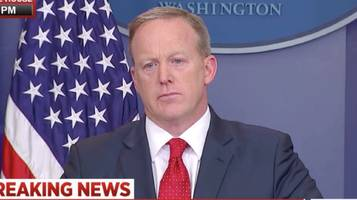 Sean Spicer No Longer Expected to Give Daily Briefings After Foreign Trip