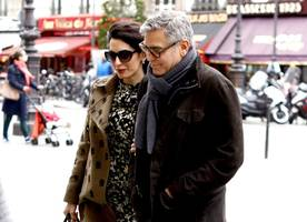 george clooney and amal are hiding out to prepare for her labor