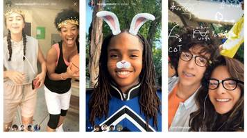 Instagram Launches Snapchat-Like Face Filters