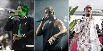 Watch Drake Bring Out Migos, Playboy Carti at Adult Swim's Upfront Party