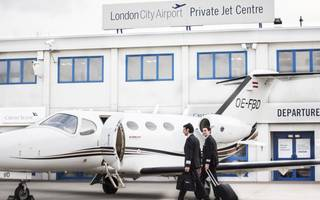 London City Airport partners with private jet firm GlobeAir