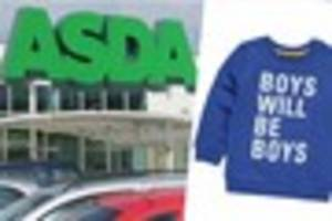 do you think this £4 boys'  jumper from asda is offensive?