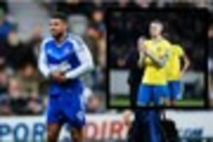 championship: leon best released by ipswich; leeds united dispute