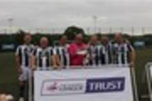 plymouth argyle in grand final of efl trust walking football cup